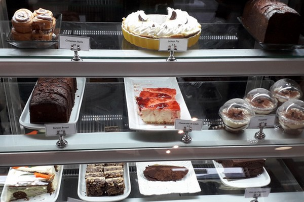 The sweets at Café & Chocolate Kotowa