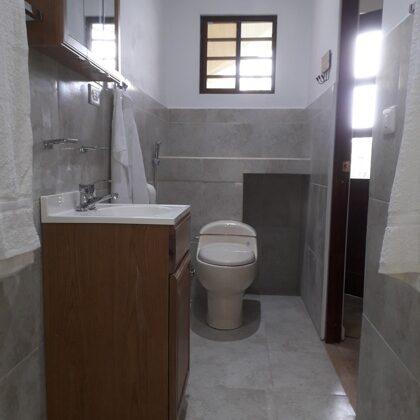 Baño, vista del servicio