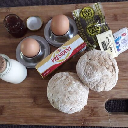 """Your """"DIY"""" breakfast for the first days"""